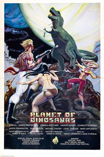 planet of dinosaurs poster 01
