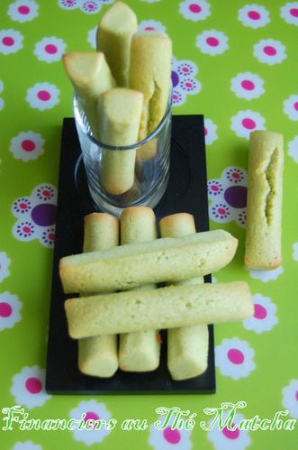 financiers thé matcha