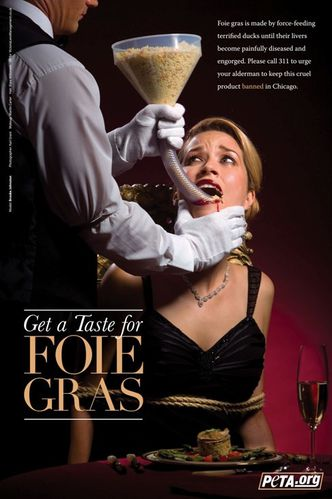 Brooke Johnson Foie Gras Ad