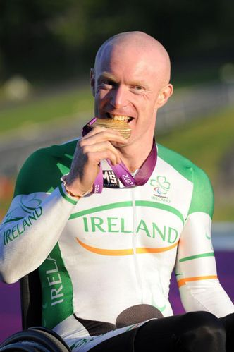 Mark Rohan Golden Olympic Champion Hand-cylist Septembre 20