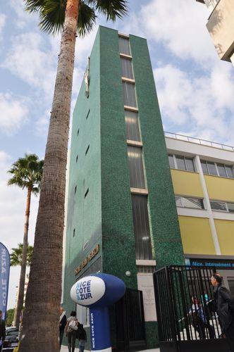 Inauguration du complexe sportif jean m decin for Piscine jean bouin nice