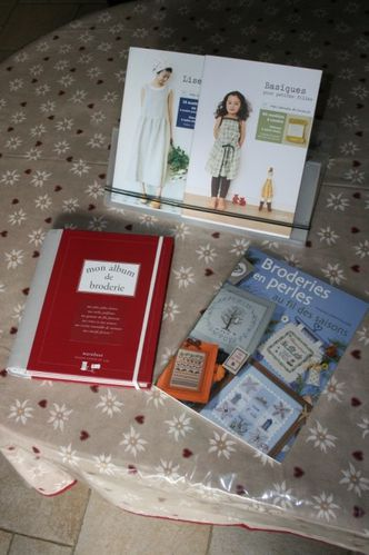 livres couture et broderie