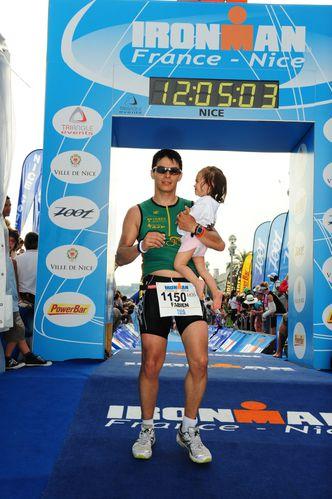 finisher ironman Nice 2010