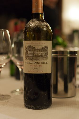 chateau saint pierre 2005