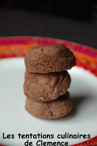 biscuits choco gingembre