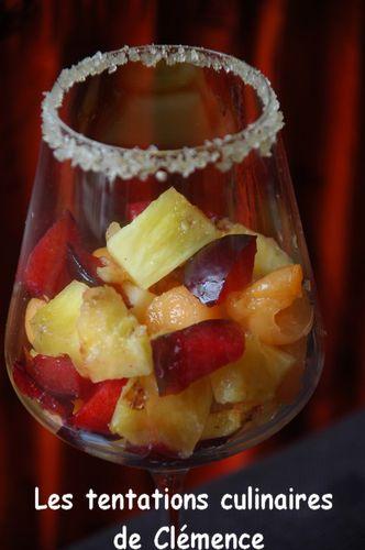 salade de fruits à la marguerita