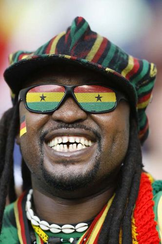 supporter ghana equipe national