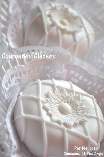 gateau algerien couronnes glaces