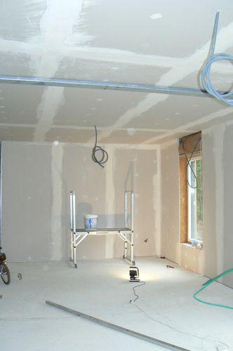 finition de plaques de pl tre le blog de autoconstruction en. Black Bedroom Furniture Sets. Home Design Ideas