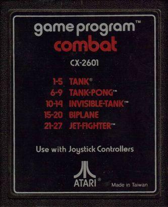 Cartouche Atari 2600 Combat