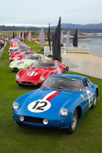 Pebble Beach 2011 Ferrari 250GTO 2