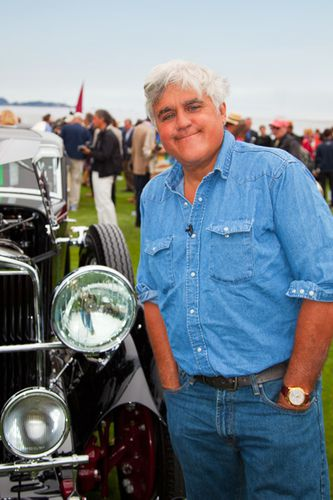 Pebble Beach 2011 Jay Leno