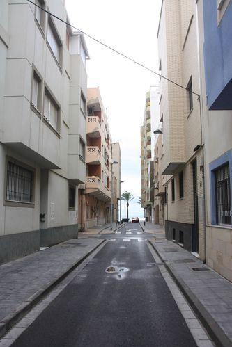 Almeria 3239 En bleu l'immeuble où loge Cécé.