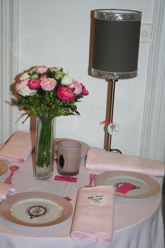 nappe linge ancien rose poudré (150 x 250 cm 54 €)