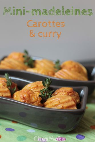 madeleine carottes curry