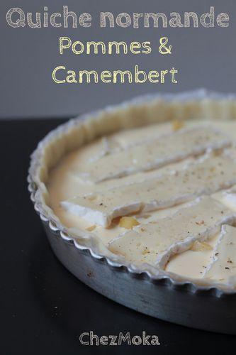 Tarte pomme camembert