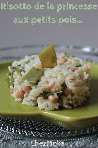Risotto petits pois