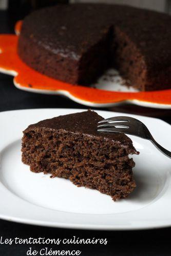 gâteau vegan chocolat et vin rouge3