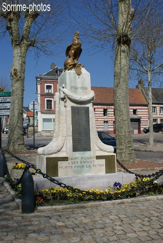 monument aux morts Saint Riquier (80)