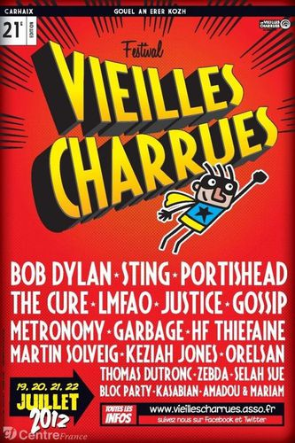 VIEILLES CHARRUES 2012