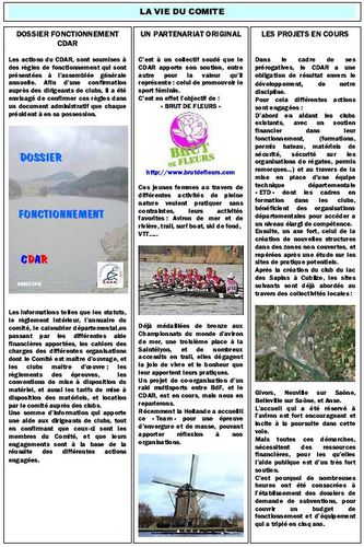 Newsletter CDAR n°2 BdF