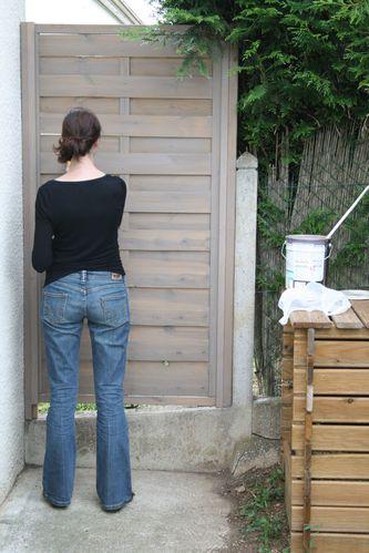 Ma cabane au canadaaaaa suivi de chantier for Peindre du bois lasure