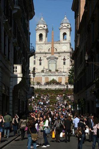 482a Rome, escalier de la Trinità