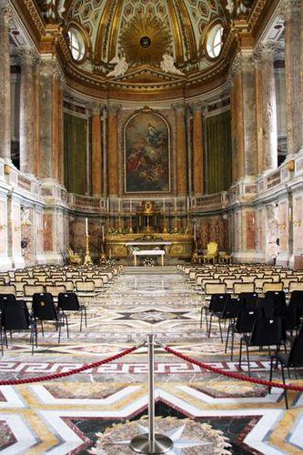 509d Caserte, palais royal, chapelle