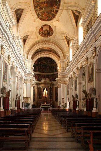 592c2 Agrigente, église St François d'Assise