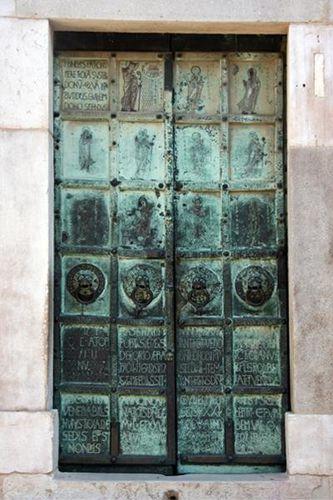 635e2a Troia, cathédrale, portail est