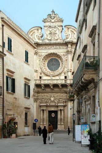 657L1 Lecce, chiesa di Santa Croce