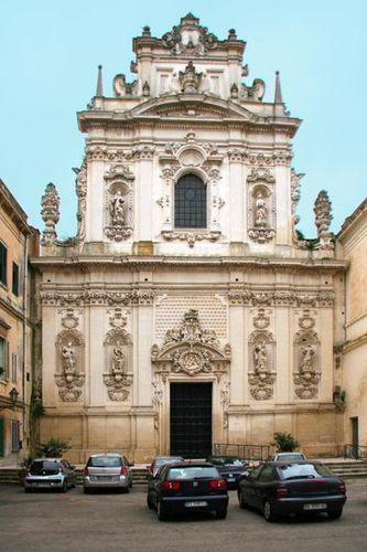 659f6a Lecce, chiesa del Carmine
