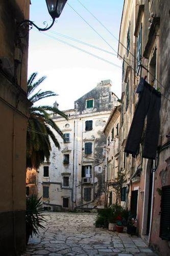 662c1 Corfou, la vieille ville
