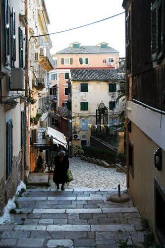 662c2 Corfou, la vieille ville