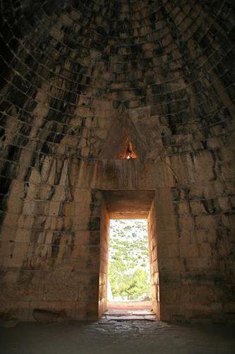 685i2 Tombeau d'Agamemnon à Mycènes