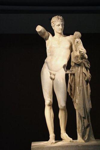 702g5a Musée d'Olympie, Hermès de Praxitèle