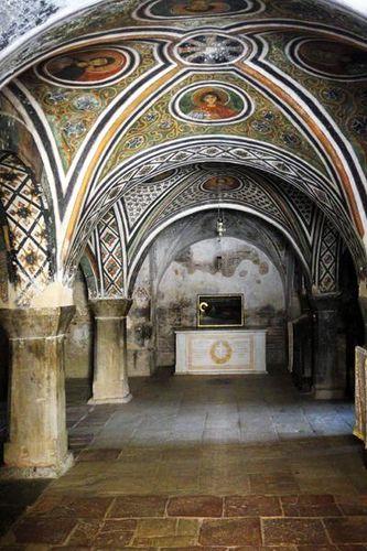 722h1 Monastère d'Osios Loukas, la crypte