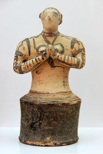 738d6 fidèle ou prêtresse minoenne, 14e-12e s. avant J.-C