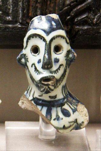 761c5 Céramique de Rakka, en Syrie (13e s.)