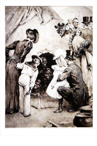 792e2 Noirs exhibés comme sauvages (1899)