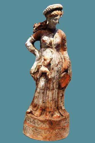 829f2 Terre cuite, musée de Pella