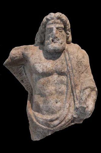 844e3 le dieu Sarapis, 2e s. après JC, musée de Thassos