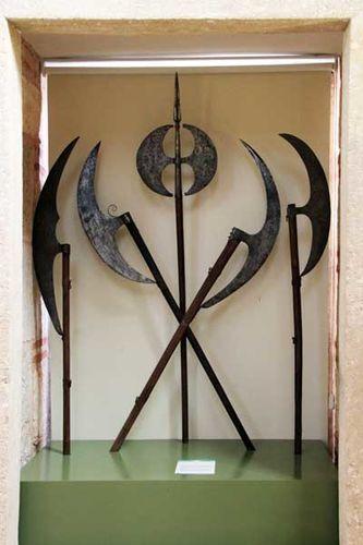 858f1 hallebardes, musée islamique d'Edirne