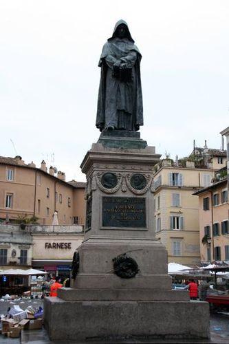 329d Rome, Campo dei Fiori, Giordano Bruno
