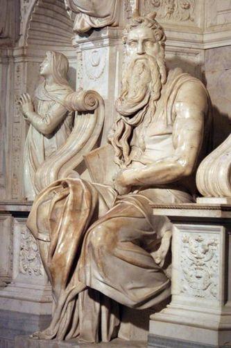 348d Rome, Moïse de Michel-Ange