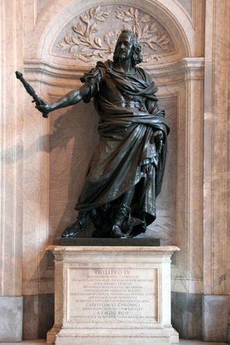 392e Rome, Sainte Marie Majeure, Philippe IV d'Espagne