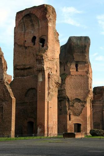 369c Rome, thermes de Caracalla