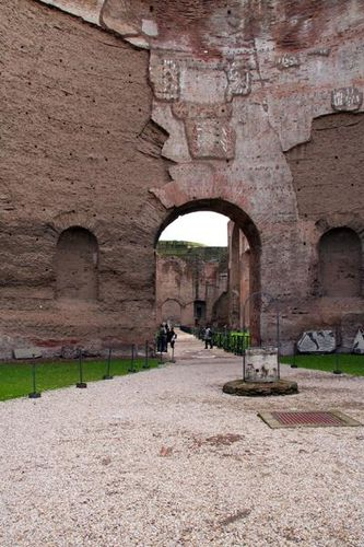 369f Rome, thermes de Caracalla