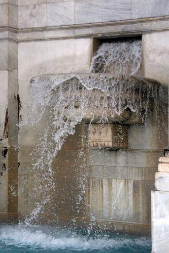 460c4 Rome, Janicule, Fontaine Paola