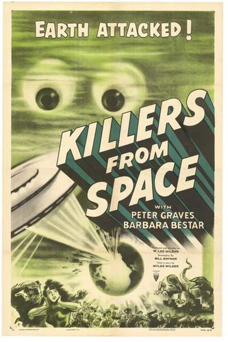 Killers from space affiche